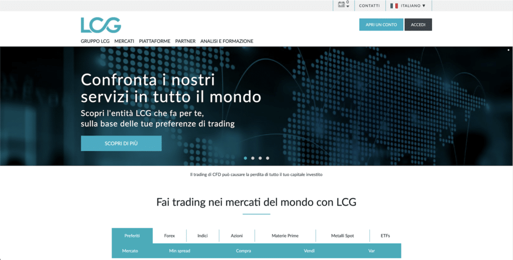 recensione lcg london capital group broker